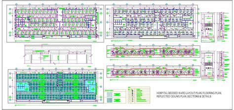 layout design for hospital hospital general ward design plan n design