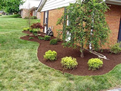 landscape around double patio pinteres landscape curved edging around house gardening