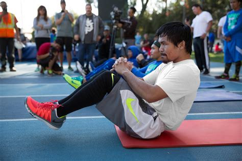 manny pacquiao running shoes inner strength manny pacquiao fighting and focused