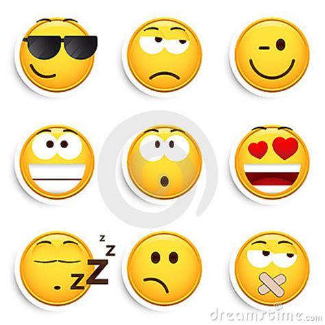 imagenes libres caras conjunto de caras sonrientes
