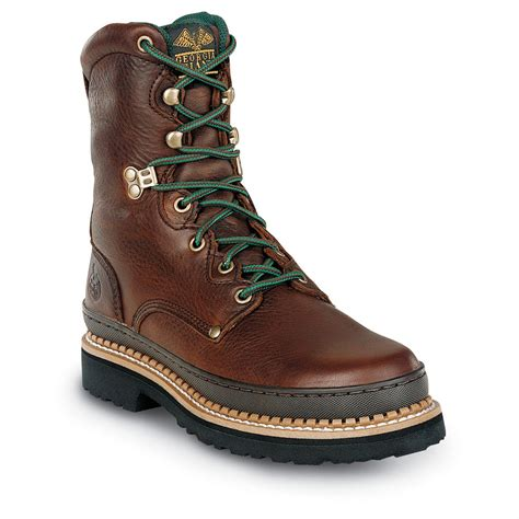s boot 174 8 quot work boots brown 96005