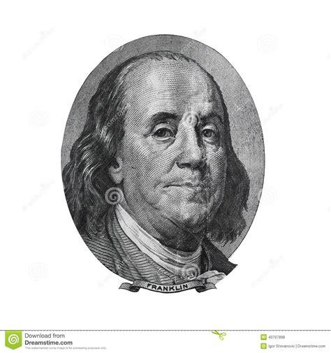 ben franklin the diplomat part 4 of the biography benjamin franklin from hundred dollars bill stock photo