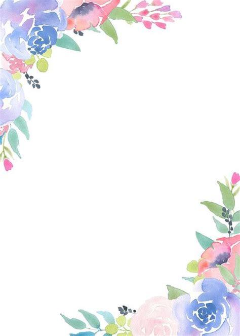 floral frame clipart flower arrangement pre  invites
