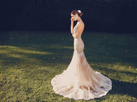 design by humans laced up lauren lauren elaine vaile blush wedding dresses and mermaid gowns