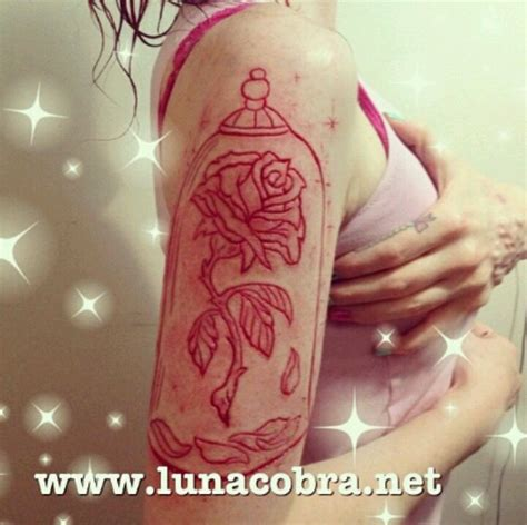 enchanted rose tattoo enchanted scarification