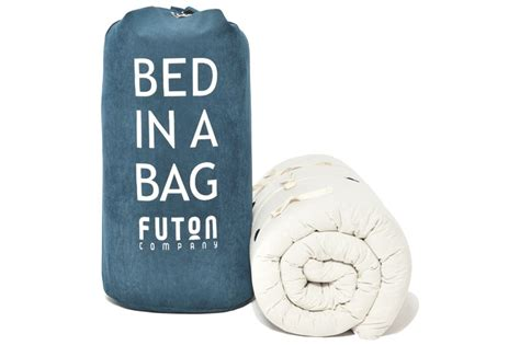 futon bed in a bag sleepover children s bed in a bag futon company