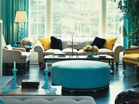 turquoise paint color for simple modern home interior 4