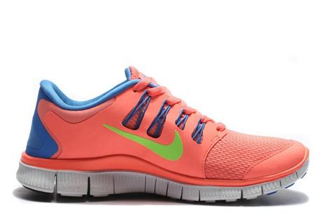 nike free 5 0 running shoes womens nike free 5 0 womens coral blue running shoes outlet sale