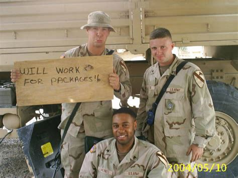 Care Packages For Soldiers Quot Thank You For Your Support by Troops Wish List
