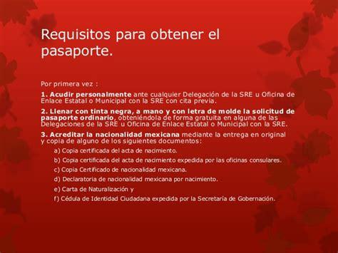 Requisitos Para Ingresar Al Spb | requisitos para viajar al extranjero
