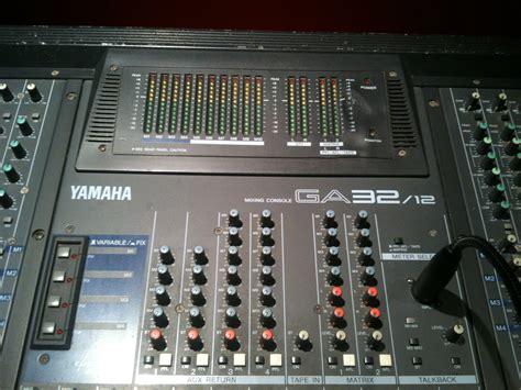 Mixer Yamaha Ga 32 photo yamaha ga 32 12 yamaha ga 32 12 98149 456599