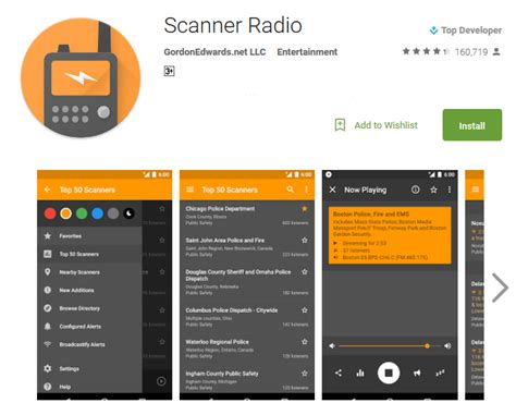 radio app android top 10 free scanner apps for android andy tips