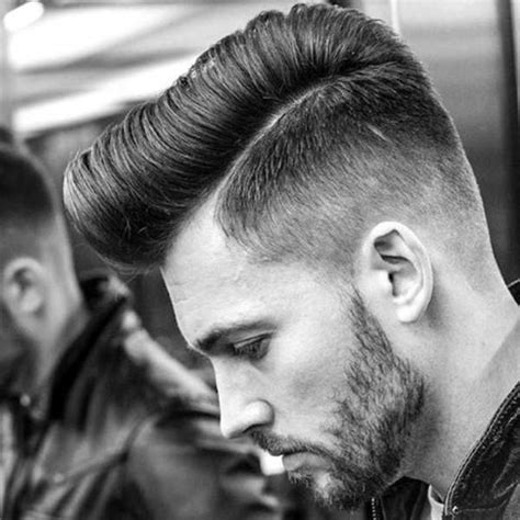 view from back of pompadour hair style 44 stylish pompadour haircut ideas that are hip