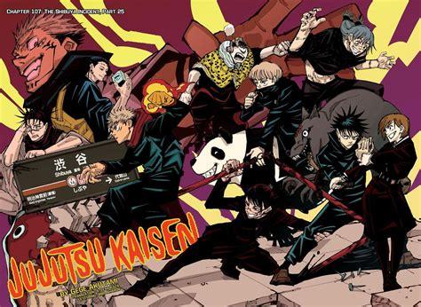 jujutsu kaisen chapter  jujutsu kaisen manga
