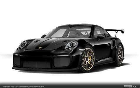 porsche back black porsche 911 gt2 rs 9912 338 p9xx