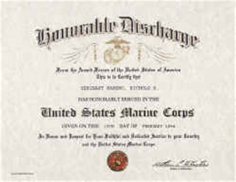 honorable discharge certificate template army honorable discharge certificate