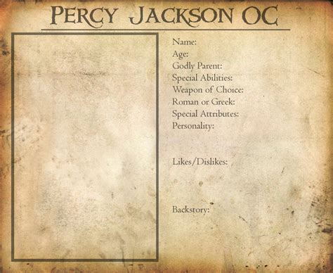 pjo oc template by flamefireheart on deviantart