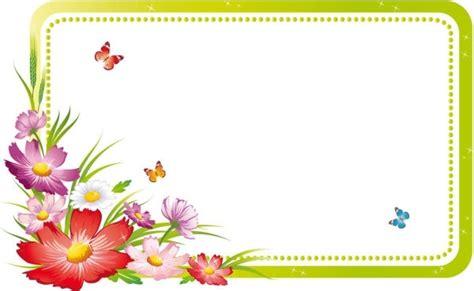 design flower side side corner flower design free vector download 12 157