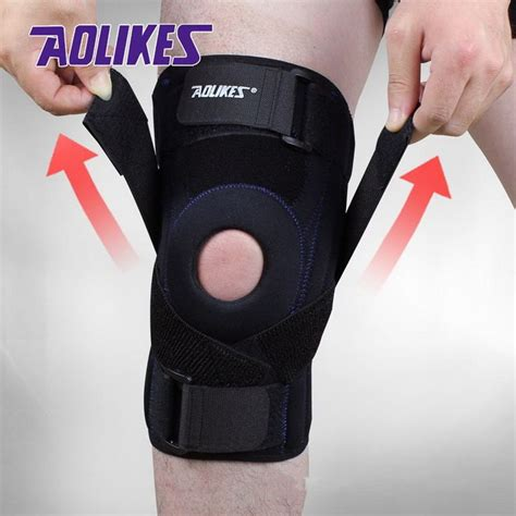 Supports Aolikes 1pcs Wristbands Bandage Safety Knee Pads 101 best knee braces images on bracelets braces and teeth braces