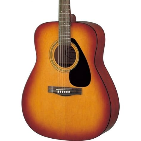 Yamaha Folk Guitar F 310 yamaha f310 acoustic folk guitar tobacco brown sunburst
