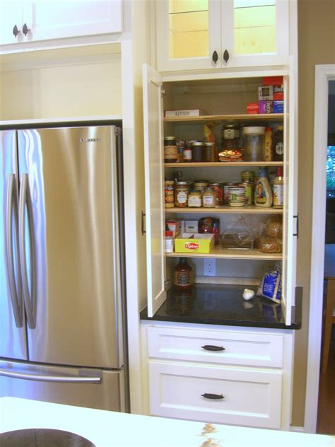 pantry cabinet your space in small apartments
