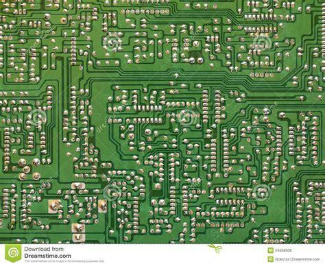 Bor Pcb green printed circuit board pcb stock photo image 24358508