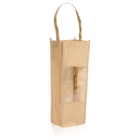 gift bags personalized non woven wine bottle carrier gift bags