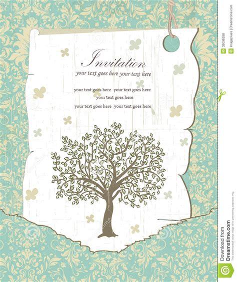 reunion invitation design vector family reunion invitation card stock vector illustration