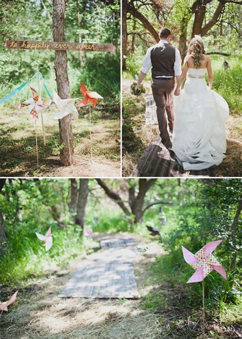 Backyard Wedding After On A Budget Inspiration For A Backyard Wedding