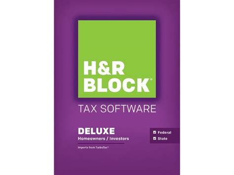 H&R BLOCK Tax Software Deluxe + State 2015 - Newegg.ca H And R Block 2015 Tax Software Deals