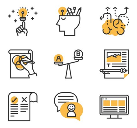 design service icon vector thinking icons 2 261 free vector icons