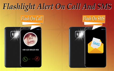 flash light blink on call flashlight alert on call sms android apps on play