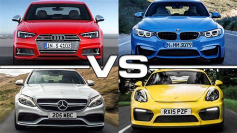 Bmw M3 Vs Audi S4 by Audi S4 Vs Bmw M3 Vs Mercedes Amg C63 Vs Porsche Cayman