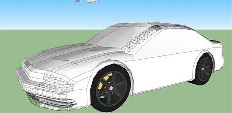 google sketchup car tutorial image gallery sketchup car