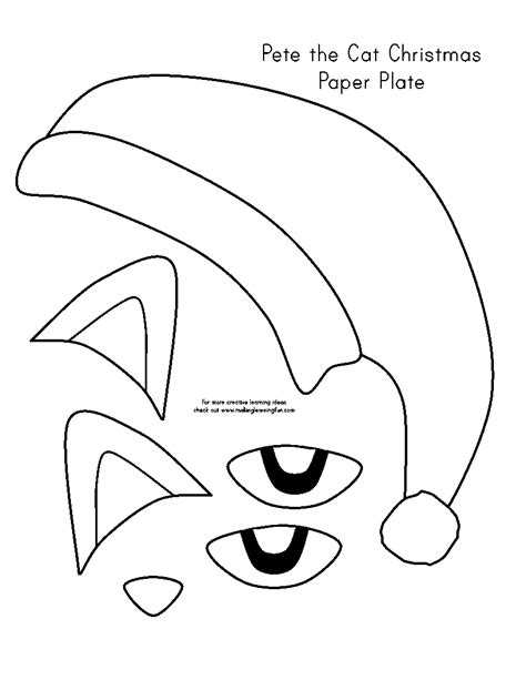 Free Coloring Pages Of Pete The Cat Christmas Pete The Cat Coloring Printable