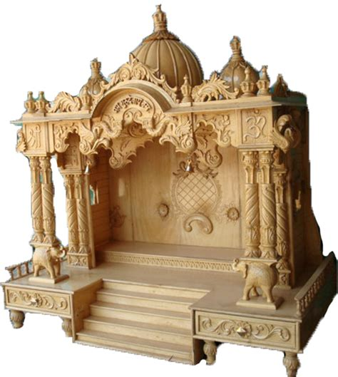 description wooden temple designs for home quotes