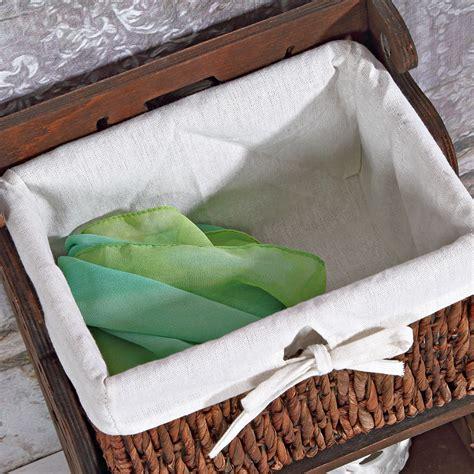 Nachttisch Korb by Nachtschrank Shabby Braun Nachtkommode Nachttisch