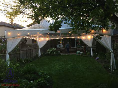 Backyard Concert by Allcargos Tent Event Rentals Inc Backyard Events Rental