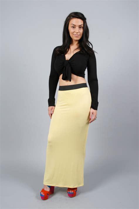 77u new womens summer fitted jersey maxi skirt uk ebay
