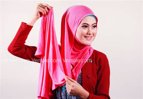 tutorial jilbab pasmina yang sederhana coba hijab pashmina yuk be smart and behave