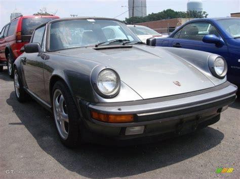 grey porsche 911 1985 grey metallic porsche 911 targa