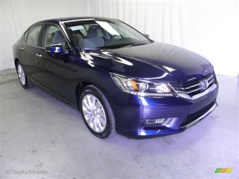 obsidian blue color 2013 obsidian blue pearl honda accord ex sedan 71860890
