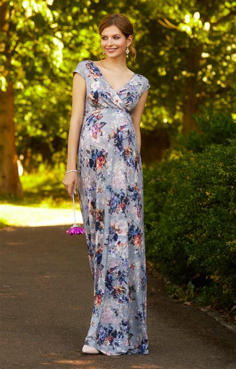 alana maxi maternity dress hawaiian breeze maternity alana maternity maxi dress vintage bloom maternity