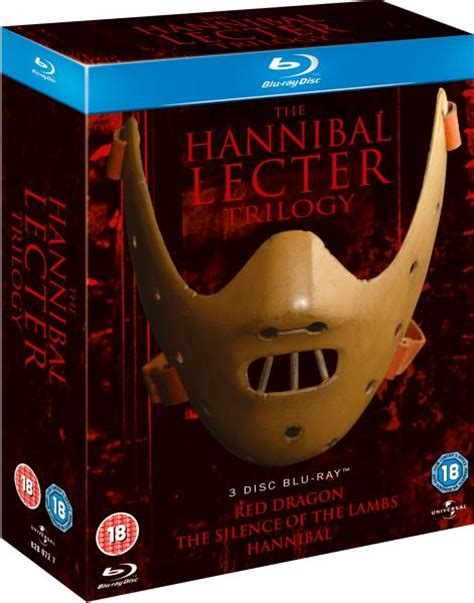 Hannibal The Complete Series Bluray hannibal lecter trilogy zavvi