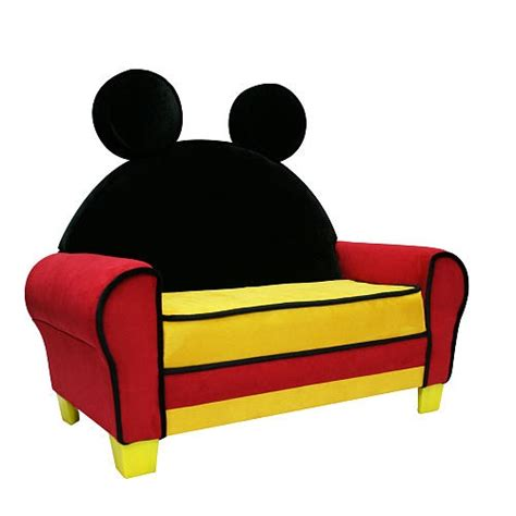 mickey mouse recliner disney mickey mouse icon toddler sofa harmony kids