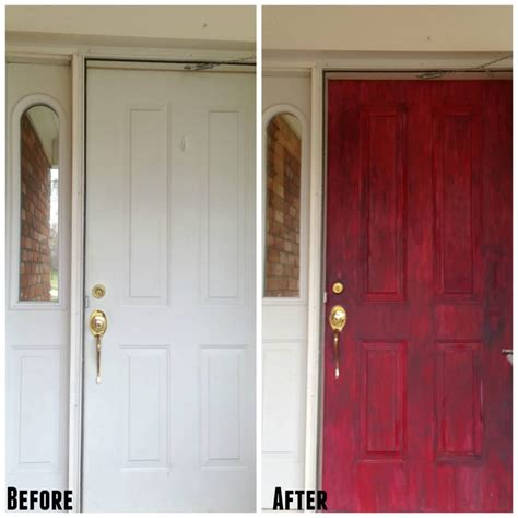 chalk paint front door painted front door with chalk paint my heavenly recipes