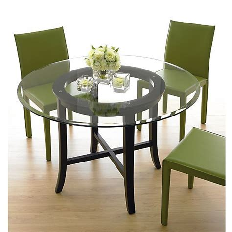 crate and barrel glass table goenoeng