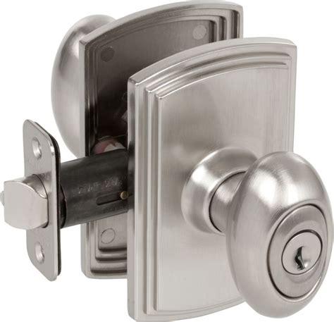 Ez Set 360501 Satin Nickel Italian Collection Canova Exterior Door Knob Sets