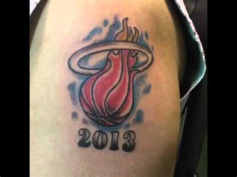 miami heat tattoo miami heat logo