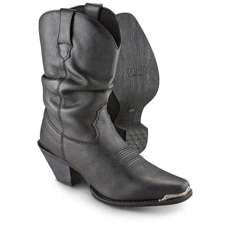 s slouch boots s durango 174 crush sultry slouch boots black 281539